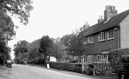 Crawley Down, the Village c1950.