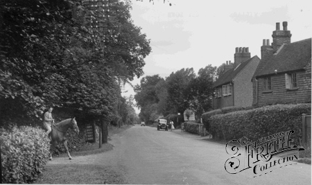 Crawley Down, the Village c1955.