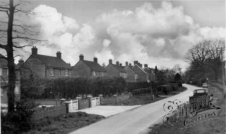 Crawley Down, Hophurst Road c1960.