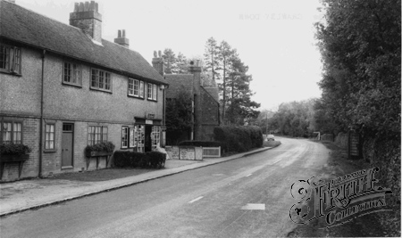 Crawley Down, The Post Office, Turners Hill Road c1960.