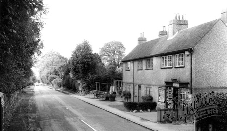 Crawley Down, Old Post Office, Turners Hill Road c1960.
